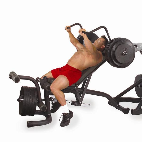 Body Solid Olympic Leverage Flat Incline Decline Bench