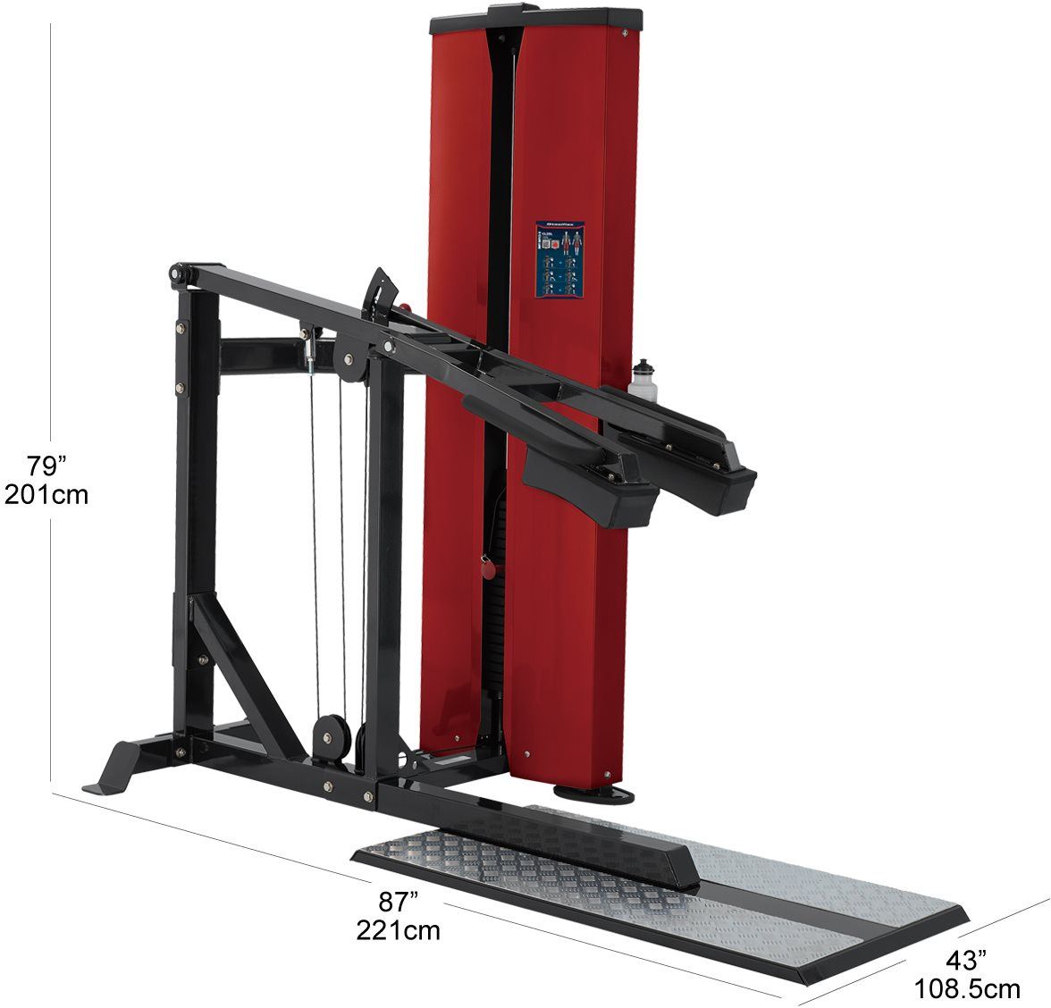 Cl2sl Squat Amp Lunge Machine Body Solid 174 Fitness Official